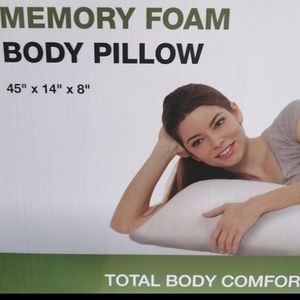 Memory body pillow NEW